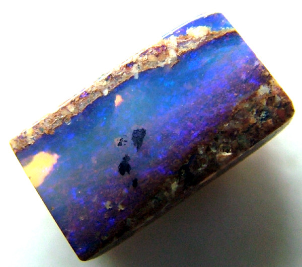 BOULDER PIPE OPAL SOLID CUT 1.10 CTS AS-7063