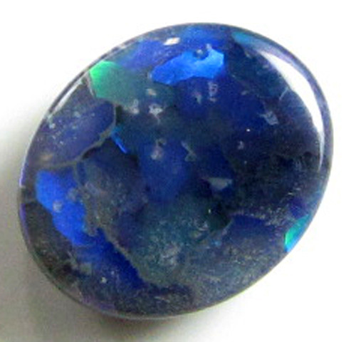 MULTI COLOUR FLASH LIGHTNING RIDGE BLACK OPAL 1.40 CTS A1166