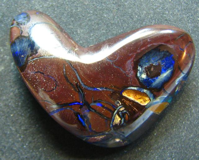 HEART SHAPE CUT OPAL