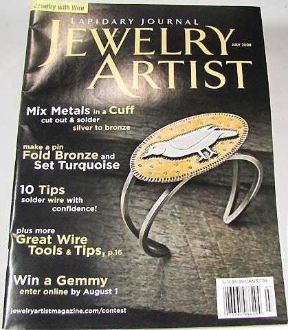 JEWELERY ARTIST JULY 2008