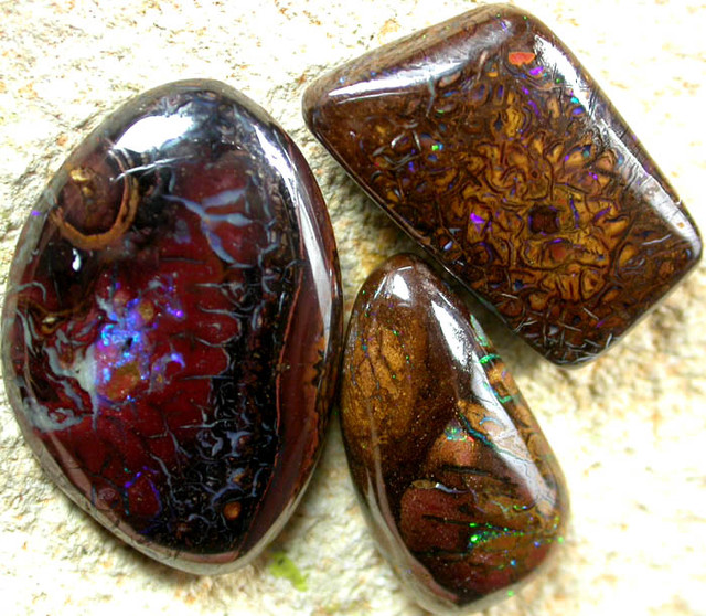 42.70 CTS PARCEL OF BEAUTIFUL PATTERNED YOWAH STONE [AUY160]
