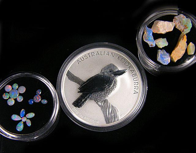 AUSTRALIAN TREASURES OPAL &  KOOKABURRA COIN SERIES 67 -200