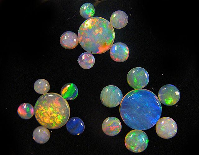 AUSTRALIA TREASURES DIAMONDS,GOLD,OPALS SERIES ATB+ 54-500