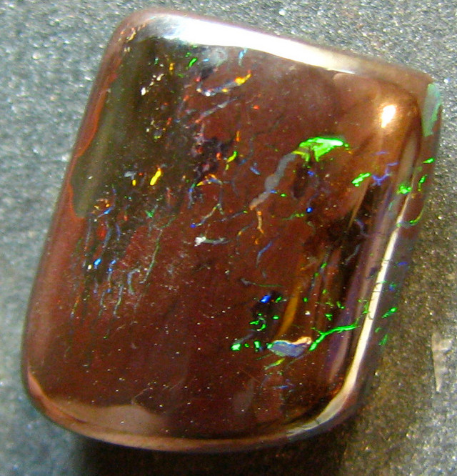 NICE HIGH POLISHED BOULDER OPAL MATRIX