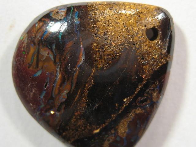 OpalWeb -Boulder Matrix Opal  from Queensland- 15.90Cts