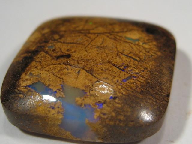 OpalWeb -Boulder Matrix Opal  from Queensland- 17.85Cts