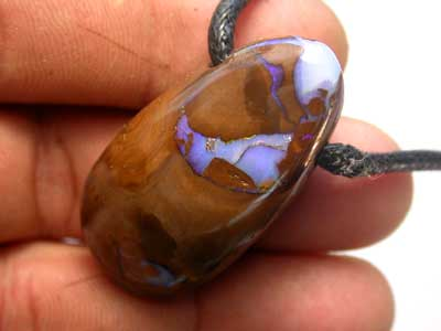 STUNNING  BOULDER PENDANTS WITH STRAP [ AP75  ]  80.00   CTS