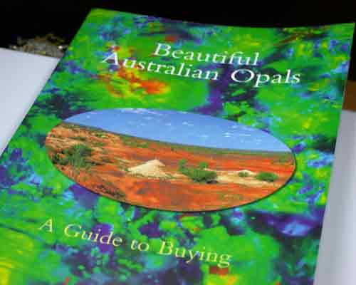 BEAUTIFUL AUSTRALIAN OPALS 16 PAGES BY LEN CRAM