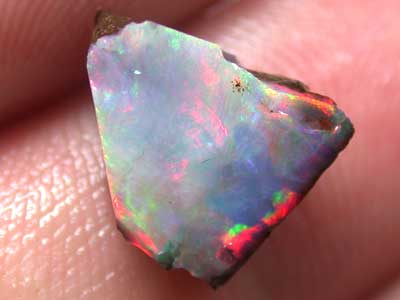 RED FIRE OPAL BOULDER ROUGH RUN 3.20CT L2590