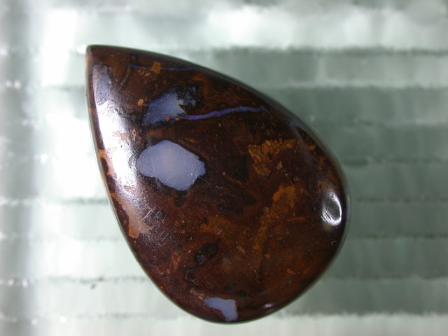 QLT LARGE BOULDER PENDANT WITH 3mm  HOLE 121 ct OEBPA/83