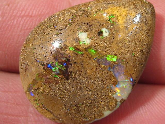 OpalWeb -Natural Boulder Matrix Opal  from QLD - 22.35Cts