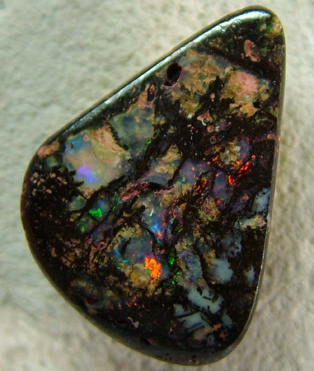 8.72  CTS BOULDER STONE-WOOD FOSSIL  [BMP2408 ]