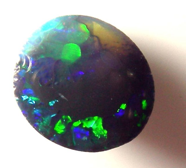 SOLID BLACK OPAL L.RIDGE 1.10 CTS AS-A907 (TBO-S)