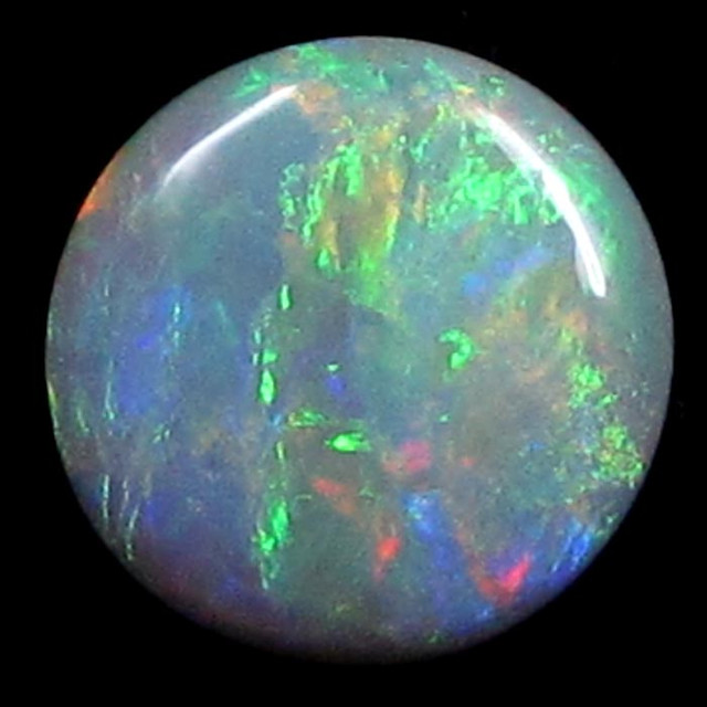 MULTI SUNSET COLOUR FIRE  OPAL 1.70 CTS  SS 1572