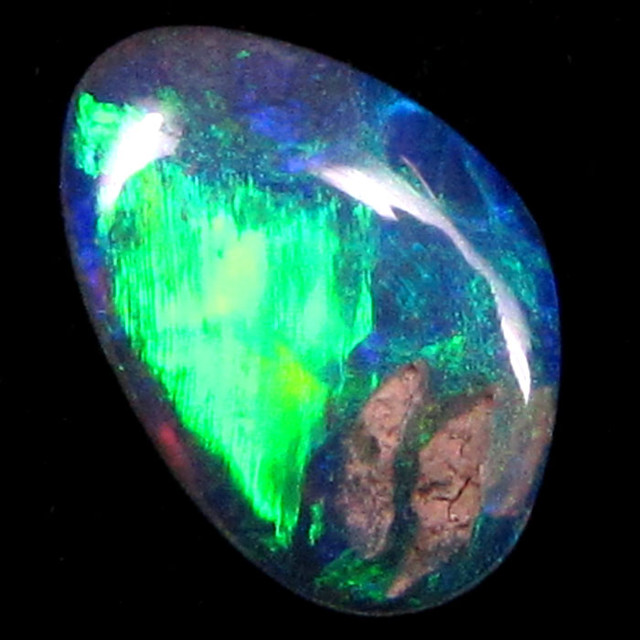SOLID LIGHTNING RIDGE OPAL 0.45 CTS M67