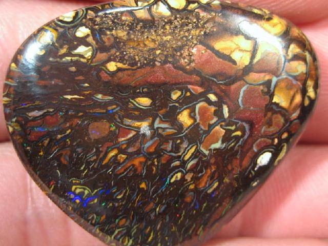 Matrix Opal from Yowah Opals Field.
