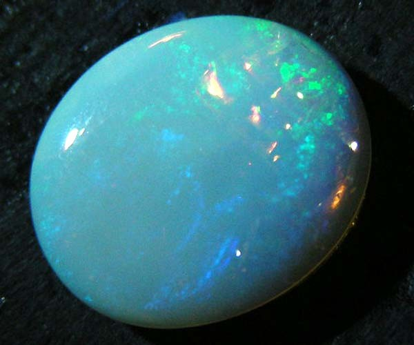 colour tone of opal is more cream (not blue)
