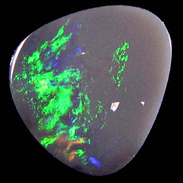 COLOUR IS BRIGHT OVER HALF THE OPAL
