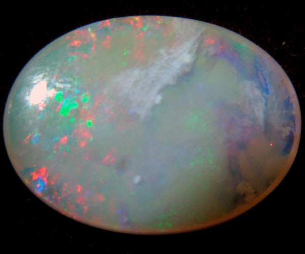 OLD STOCK SOLID OPAL 5.86CTS 0955