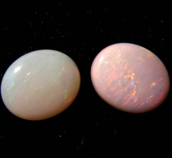 PAIR OLD STOCK SOLID OPAL 4.80 CTS 0275