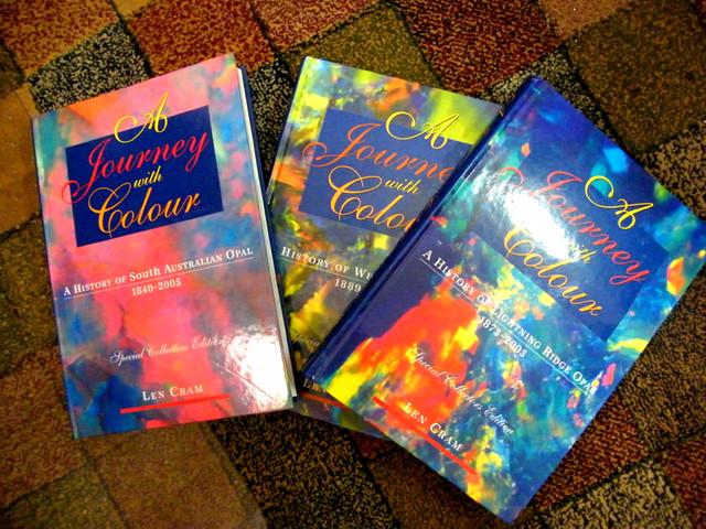 COLLECTOR ITEM OPAL BOOKS LEN CRAM SET OF 3-INVESTMENT