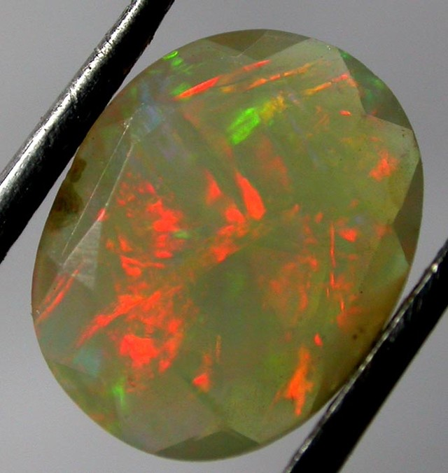 FACETED WELO OPAL -ETHIOPIA 1.16 CTS [VS3437 ]