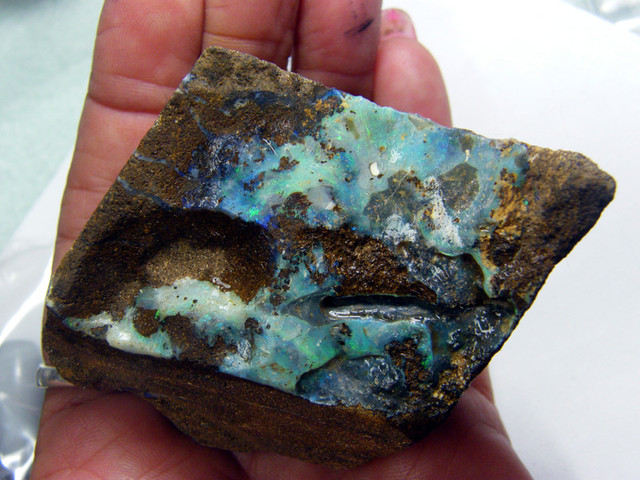 CHUNKY BOULDER ROUGH OPAL625  CTS *DTO* DT-1007