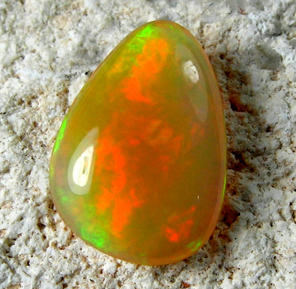 Quality Finish cut stone Welo Ethiopean opal  0.85 cts