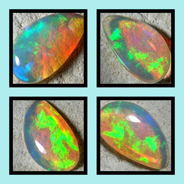 Quality Finish cut stone  Ethiopean opal  1.98 cts