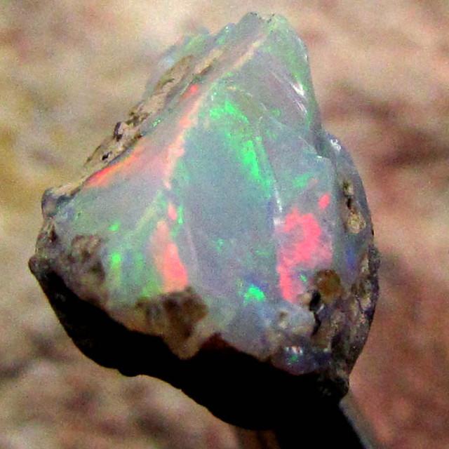 F Rough Ethiopian Opal 10.70 Carats  code QOM 644