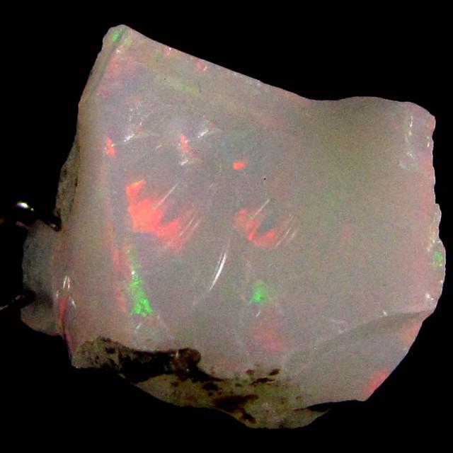 F Rough Ethiopian Opal 8.25 Carats  code QOM 663