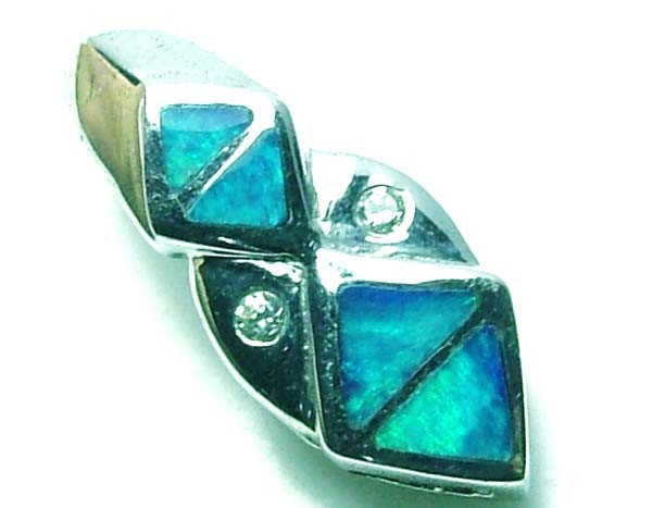 5 CTS  OPAL DOUBLET PENDANT / 925 SILVER  TBO-5652