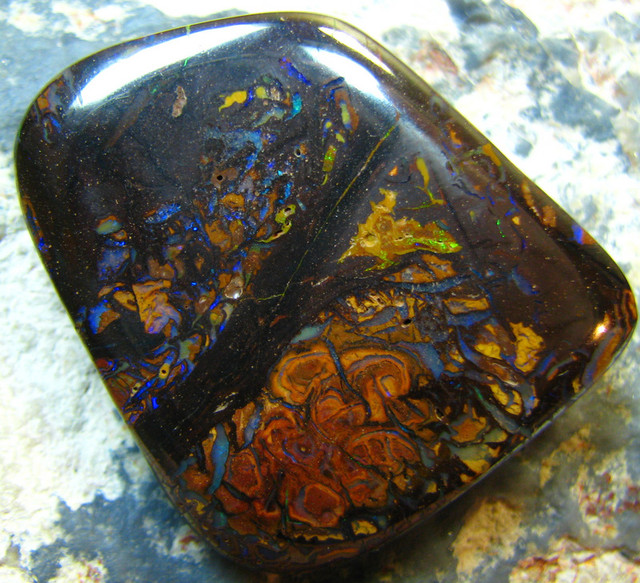 NATURAL BEAUTIFUL BOULDER MATRIX OPAL 73.90 CTS A7440