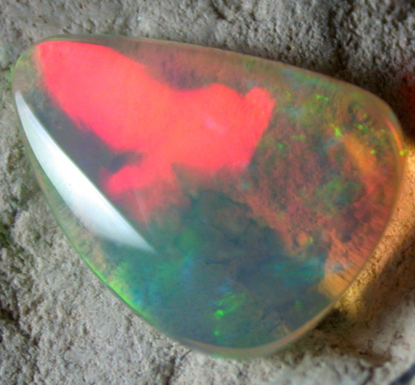 QUALITY ETHIOPIAN WELO OPAL. 1.30  cts