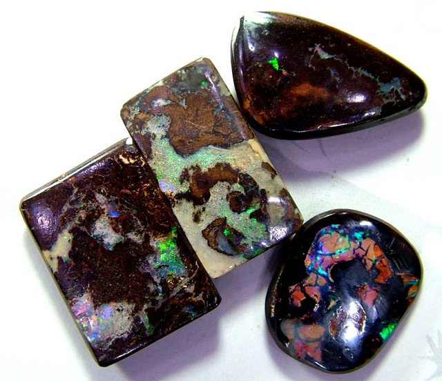 QUALITY BOULDER OPAL CUT   37 CTS AS-A 3313