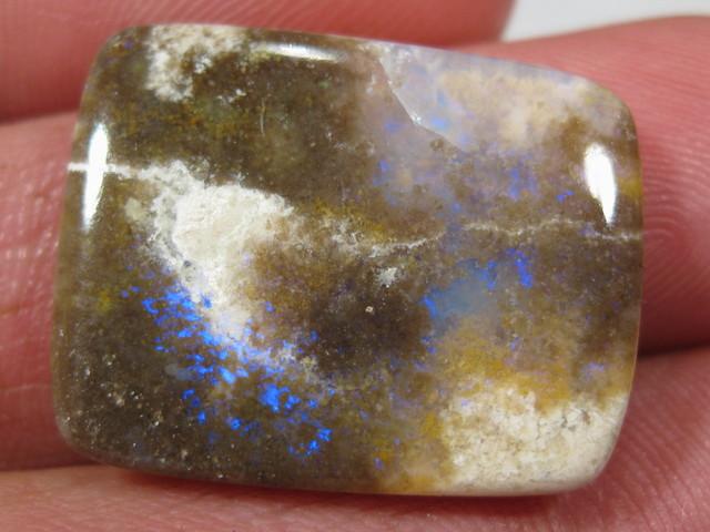 Rare Quartz and Opal Pattern From Andamooka.