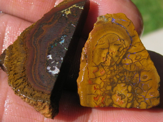 Rough Slab of Boulder Matrix Opal, Read 4 U to cut and polish.
