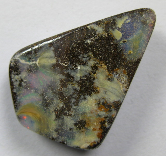 SIDE DRILLED BOULDER OPAL