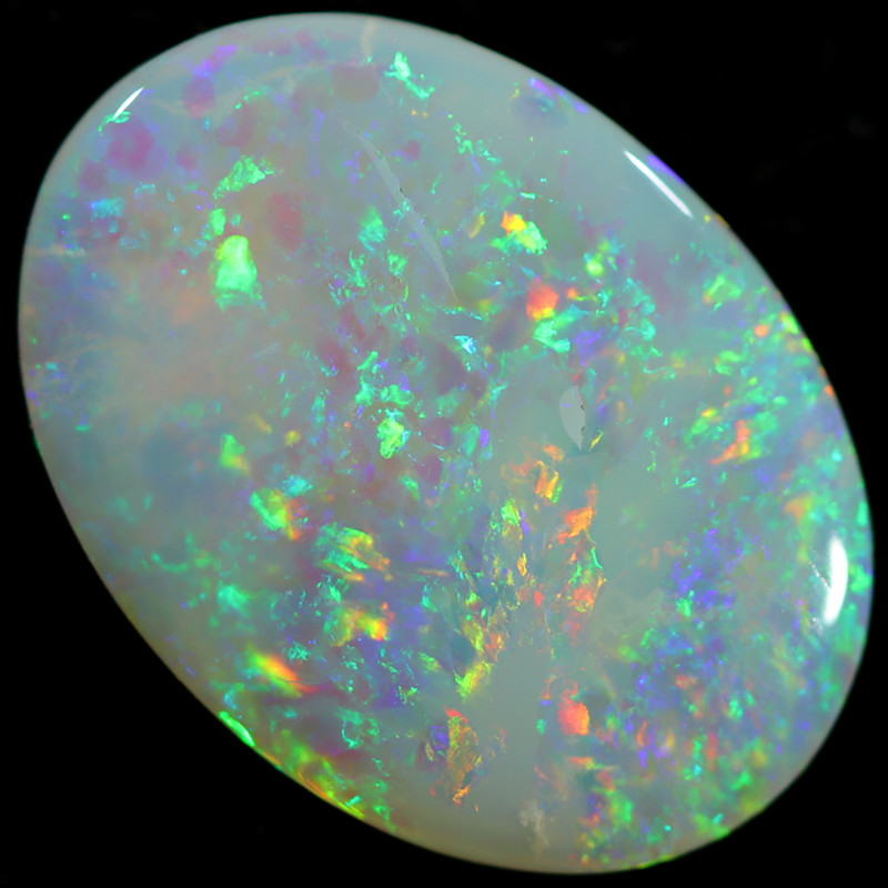 2.15 CTS PETES WHITE OPAL $ 60 PER CARAT  [MAY31]