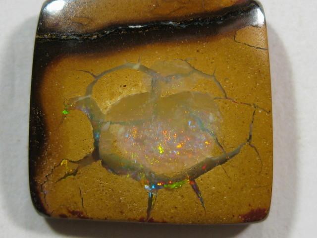Beautiful opal from Yowah Opal Field.