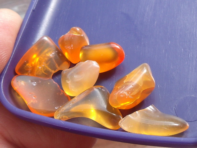 Lot (66) 8 pcs Tumbled Fire Mexican Opal 22.5 Cts.