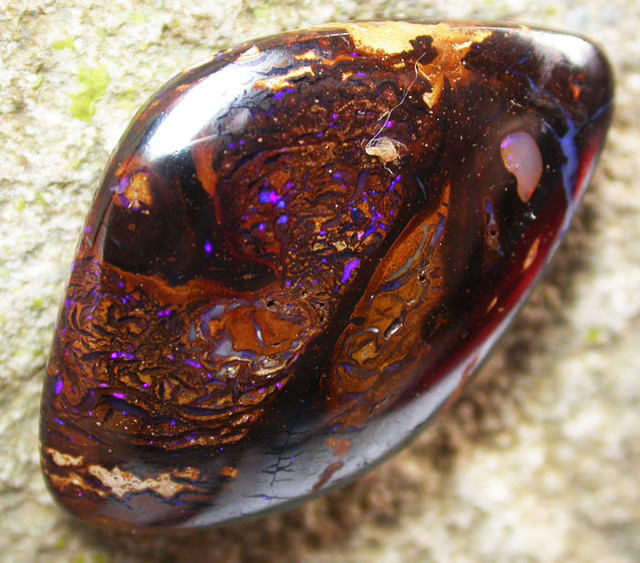 KOROIT MATRIX STONE- WELL POLISHED 24.95 CTS [BMP3018]