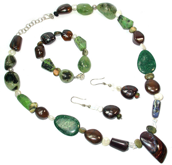 1148.50 CTS BOULDER GEMSTONE SET [SOJ941]
