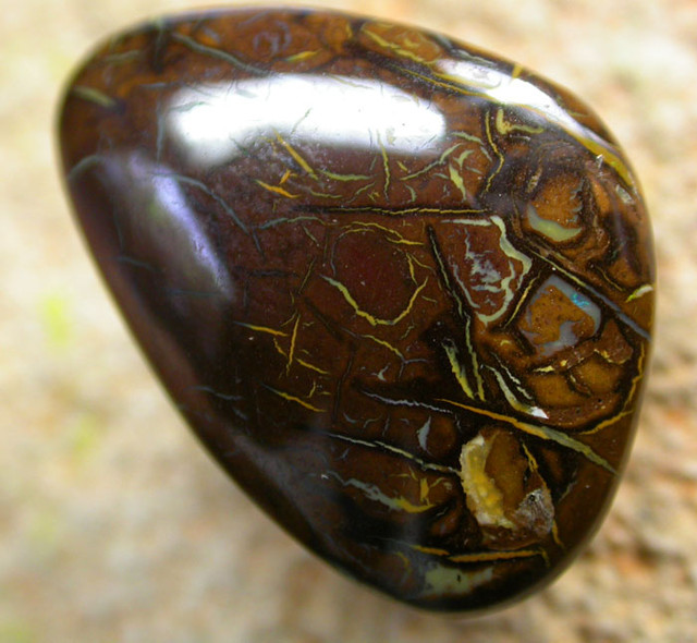 BEAUTIFUL PATTERNED YOWAH STONE [AUY26 ]17.01   CTS