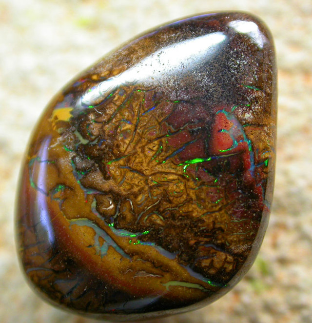 12.19 CTS BEAUTIFUL PATTERNED YOWAH STONE [AUY 35]