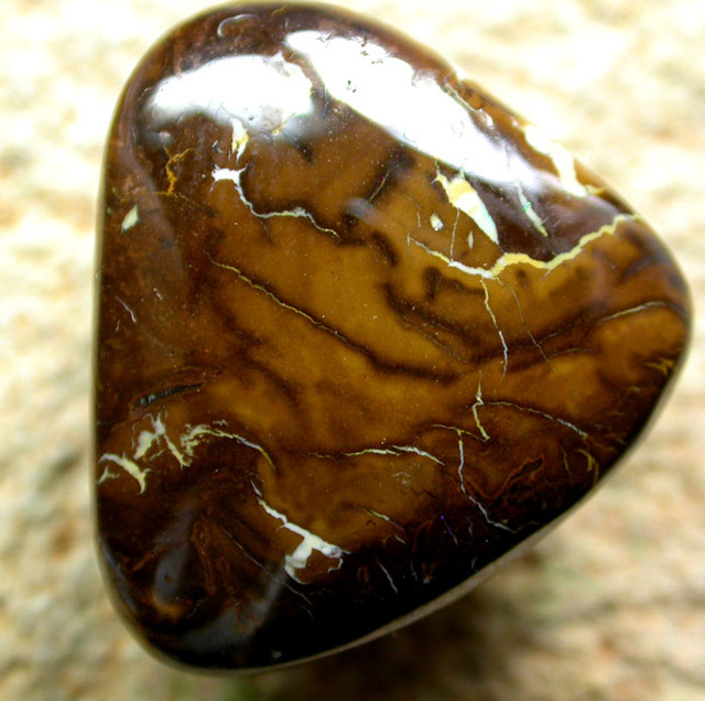BEAUTIFUL PATTERNED YOWAH STONE [AUY40 ] 20.62   CTS