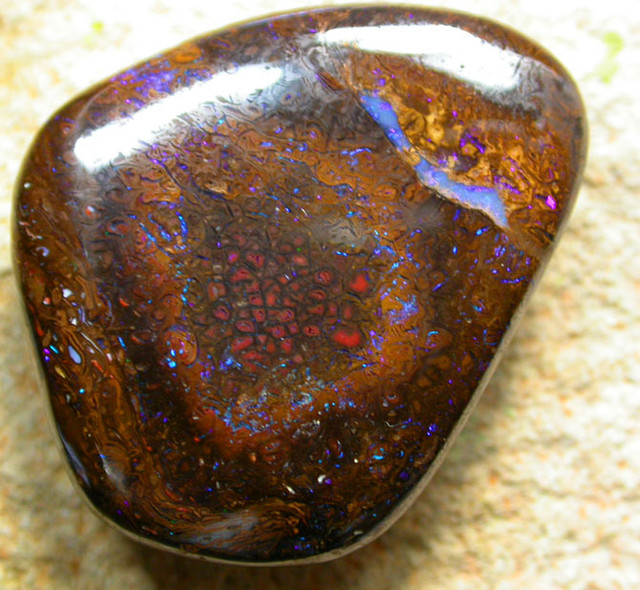 46.31  CTS BEAUTIFUL PATTERNED YOWAH STONE [AUY49]
