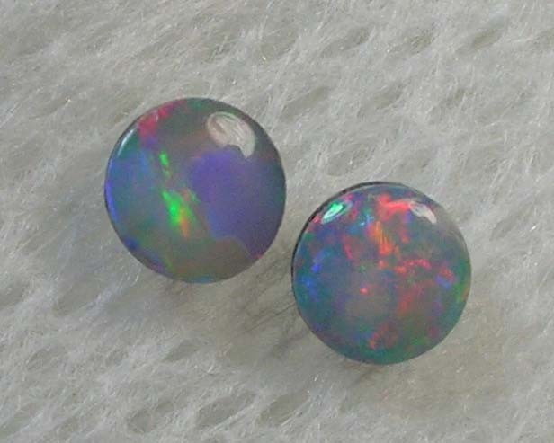 CALIBRATED HAND CUT 2PCS QUALITY DOUBLET OPAL (DB/46  )