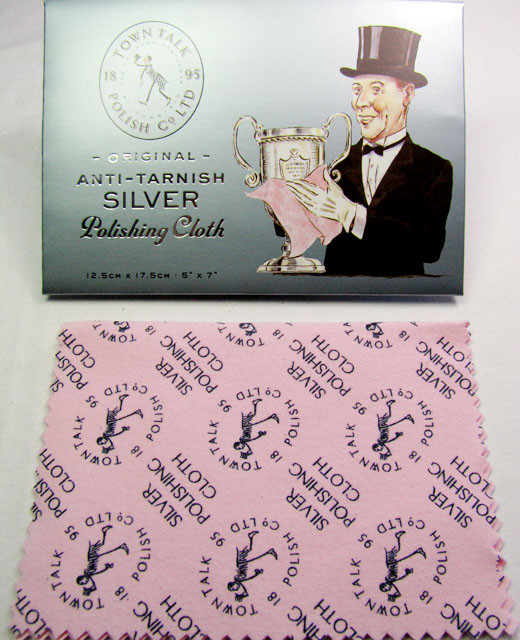 QUALITY SILVER POLISHING CLOTH MADE IN ENGLAND