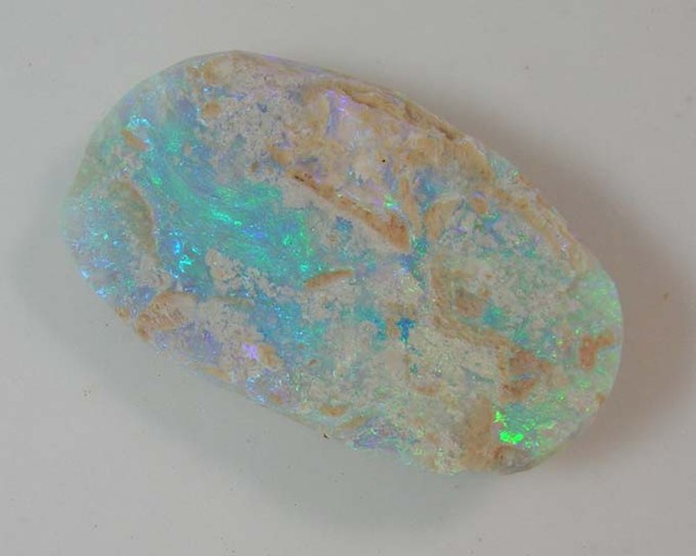 LIGHTNING RIDGE BLACK OPAL ROUGH RUB   2C/32